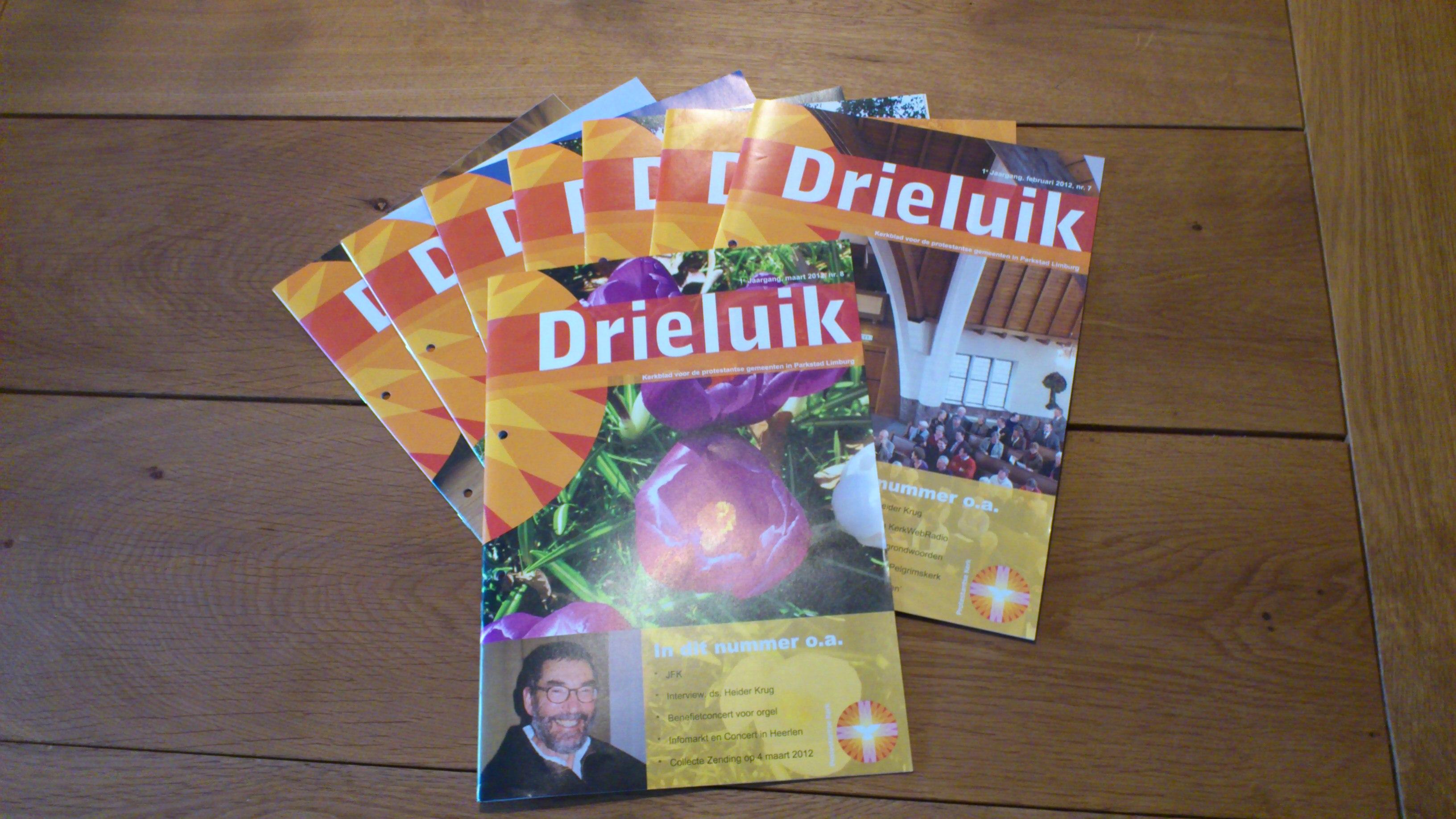 Maanblad van de Protestantse Gemeenten Parkstad